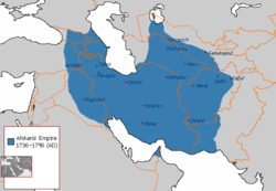Afsharid_Empire_map