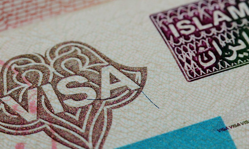 How to get visa for iran